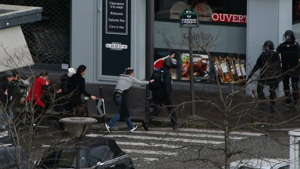 Four hostages were killed in the Kosher supermarket siege.