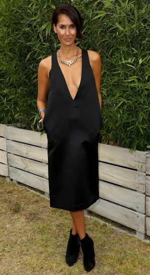 The place to see and be seen: Lindy Klim at the Portsea Polo.