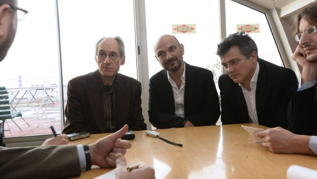 'We're really back': Editor-in-chief of French satirical weekly Charlie Hebdo Gerard Briard, lawyer of Charlie Hebdo ...