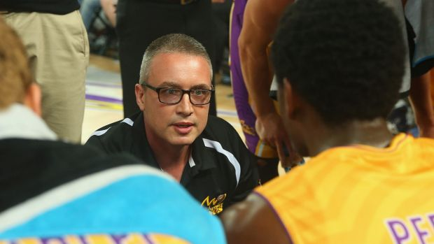Not happy: Kings coach Damian Cotter.