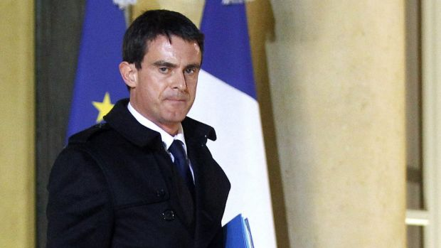 """""""Mistakes have been made"""": French Prime Minister Manuel Valls."""