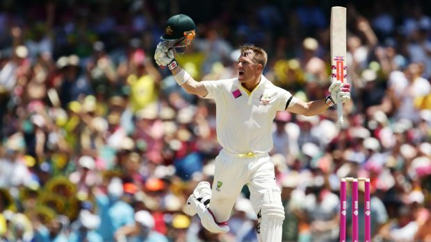 It's little wonder David Warner is brimming with self-belief after three centuries and 427 runs in the Test series ...
