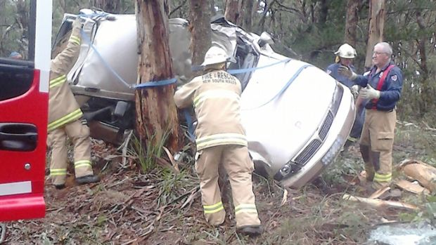 Ongath Kittiyavong died after his car crashed into a tree on the Kings Highway near Braidwood on Sunday