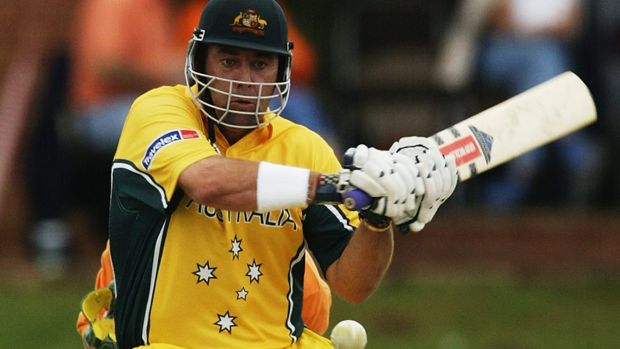 Darren Lehmann had a belated start to the 2003 World Cup.