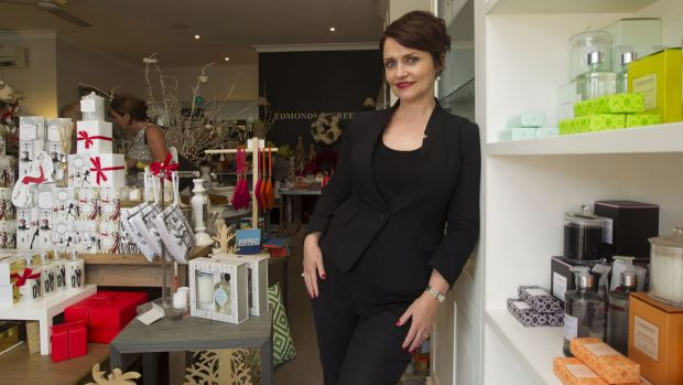 Playing favourites:  Emma Matthews loves her local Edmonds and Greer Cafe and Gift shop, at Oatley.