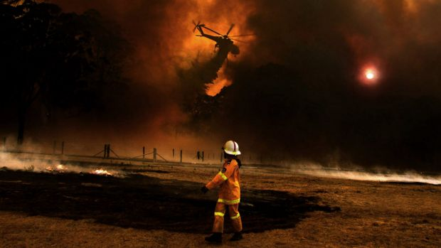 Many parts of WA are at risk of bushfires.