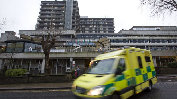 The Royal Free Hospital in London, where Pauline Cafferkey is showing signs of improvement.