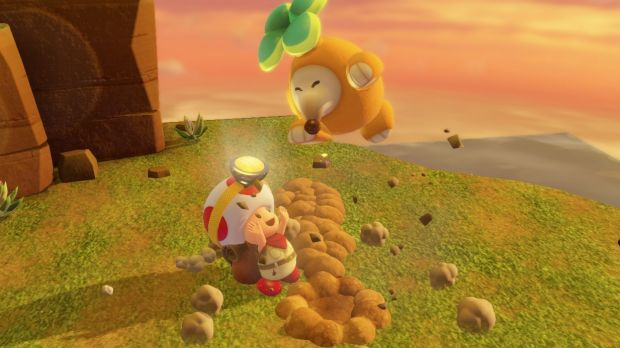 The classic ability to pull up plants from the ground returns in <i>Captain Toad</i>, but they aren't always turnips ...