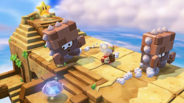 Without the ability to jump or move quickly, regular Mario environments become puzzles, and regular enemies become ...