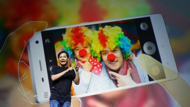 China's Apple: Xiaomi founder and CEO Lei Jun presents the Xiaomi Phone 4.