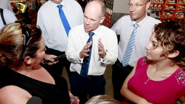 Premier Campbell Newman has questioned Labor's economic credentials.