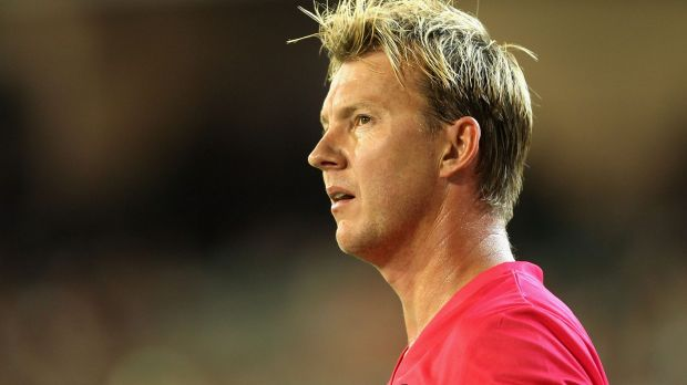 Will he or won't he: Brett Lee has yet to declare whether he will play next season.
