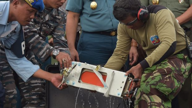The flight data recorder was retrieved from the wreckage of the AirAsia plane.