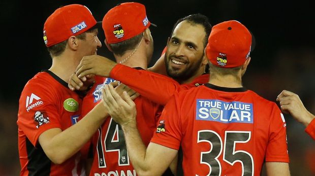 Fawad Ahmed has been in good form in the BBL.