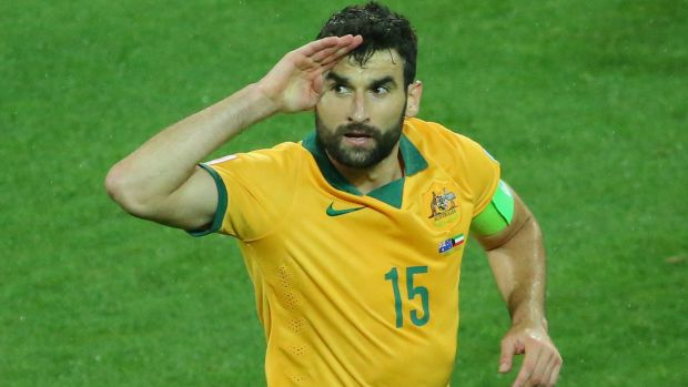 Skipper Mile Jedinak is back on duty.
