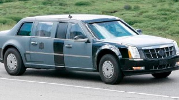 "The Cadillac ""Beast"" used by US President Barack Obama."