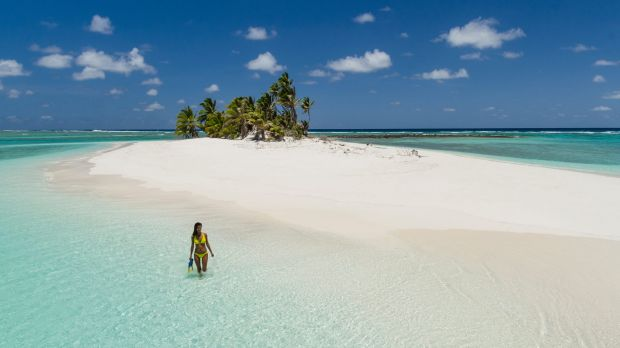 Part of the Cocos (Keeling) Islands, a collection of tiny islands on two atolls in the Indian Ocean.