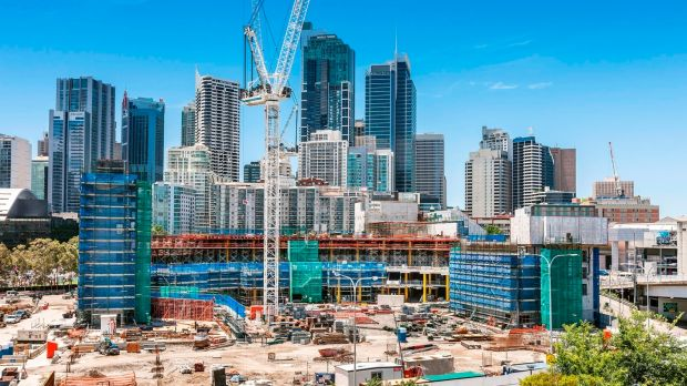 The $3 billion Darling Harbour redevelopment is on schedule.