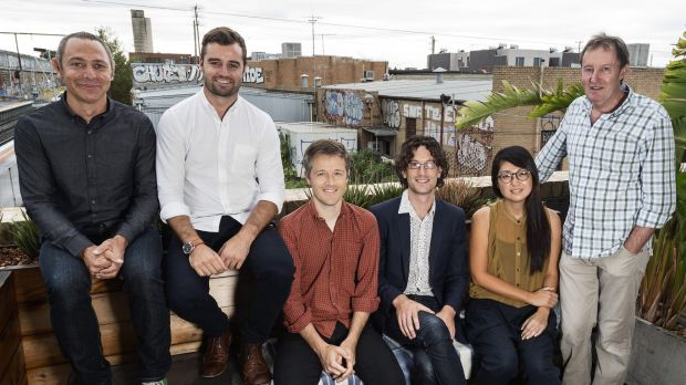 Architects Jeremy McLeod (Breathe Architecture), Will Smart (Wolveridge Architects), Andrew Maynard (Andrew Maynard ...