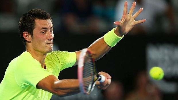 """I think I played very well, I went for my shots and did the right things"": Australia's Bernard Tomic."