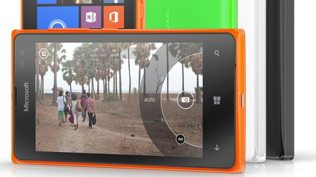 Microsoft's new Lumia 532 is aimed at providing smartphone features for a low price.