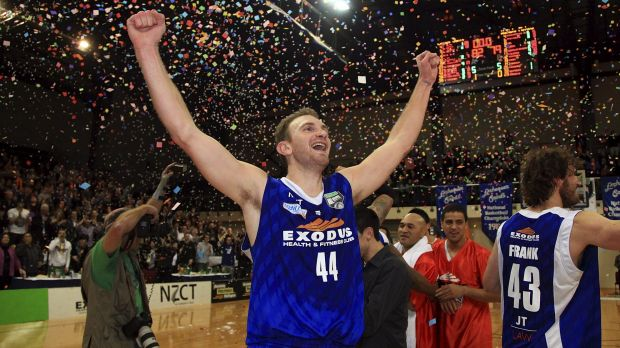 New recruit: Nick Horvath during his stint with the Wellington Saints in the New Zealand league.