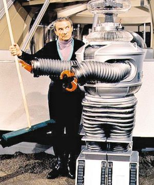 Classic character: Robert Kinoshita, who designed the robot B-9 from <i>Lost in Space</i>, died in December 2014.