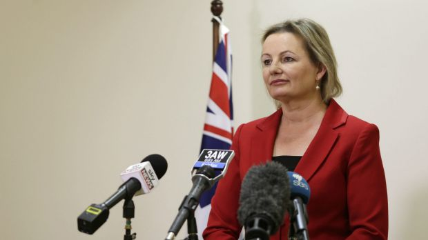 "New Health Minister Sussan Ley: ""I've heard, I've listened and I'm deciding to take this action now."""
