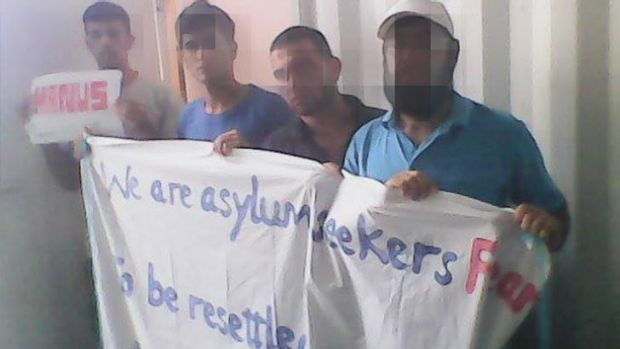 Manus Island asylum seekers have said it is unsafe for them to be settled on PNG.