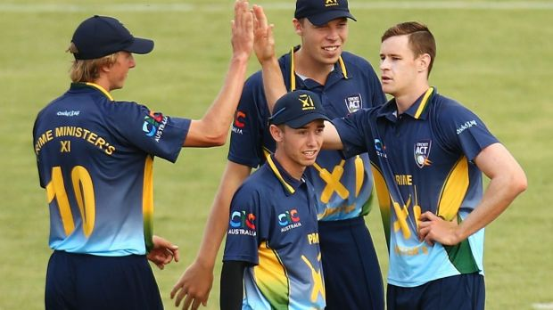 Canberra's Jason Behrendorff was part of a National Performance Squad last year and has developed into a World Cup squad ...