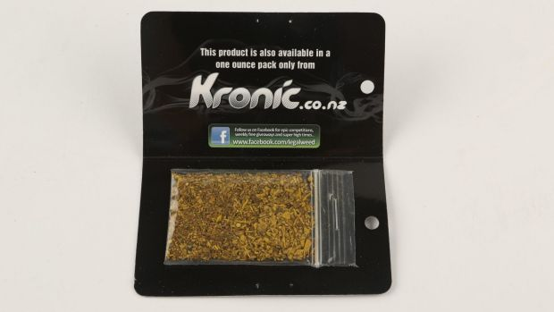 Commercial-type packaging feeds a perception that synthetic cannabis is safe, according to police.