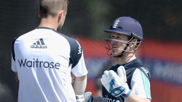 Happy with his squad: England skipper Eoin Morgan.
