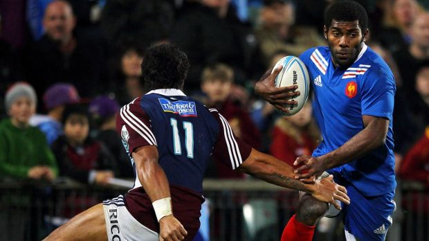 Fijian flyer: Uncapped Clermont winger Noa Nakaitaci has been included in France's Six Nations squad.