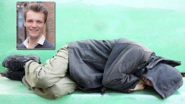 This is not the first time Conrad Liveris has experienced living rough on Perth streets.