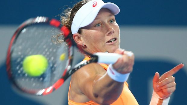 Samantha Stosur will launch her Australian Open campaign against Monica Niculescu.