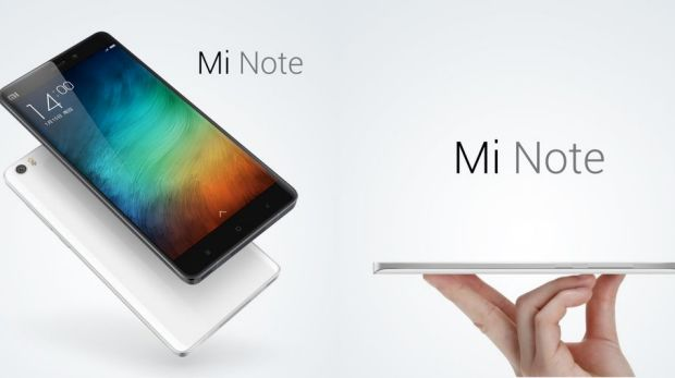 The Mi Note has drawn comparison's to the Samsung Galaxy Note and Apple's iPhone 6 Plus.