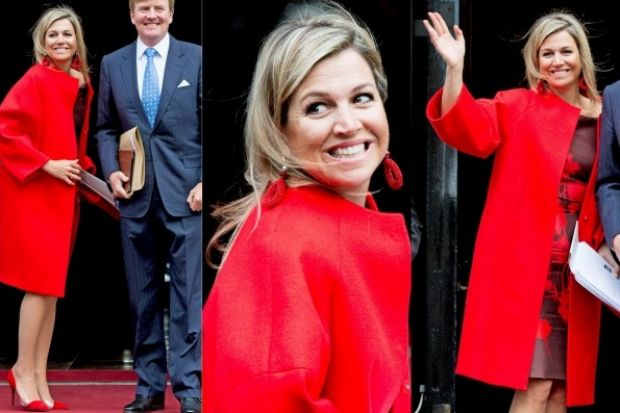 THE GOOD: I have so much love for the Dutch royal first lady Queen Maxima, she just looks so approachable. This red ...