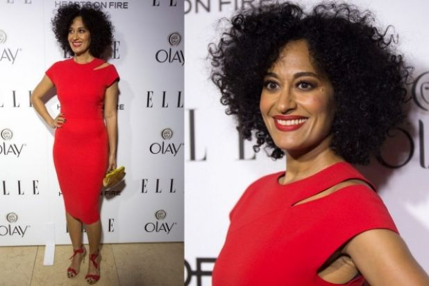 THE GOOD: From one wonderful bright red look to another, this is Tracee Ellis Ross, 42, daughter to Diana Ross and star ...