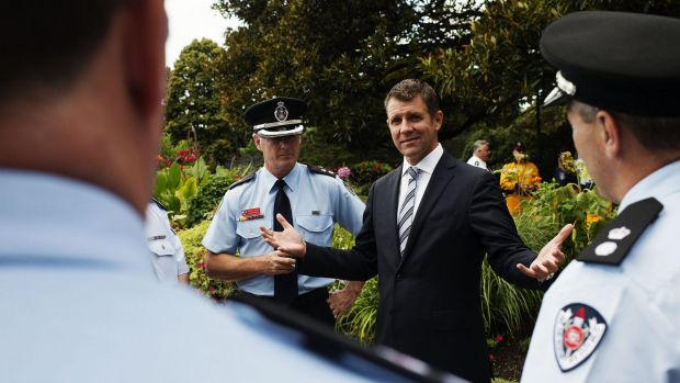 """Premier Mike Baird said the workers came to the state's aid in """"the darkest of hours""""."""