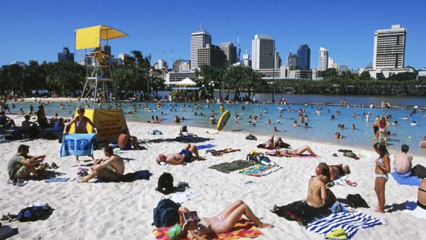 Taking a dip as Streets Beach or one  Brisbane's pools is a fantastic way to cool off on a steamy day.