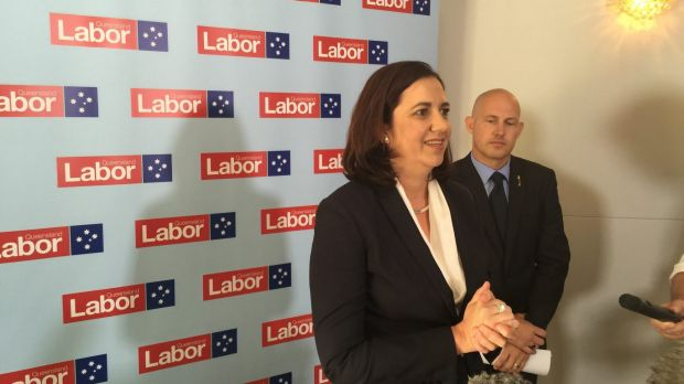 Labor leader Annastacia Palaszczuk answers questions about Labor's economic plan.