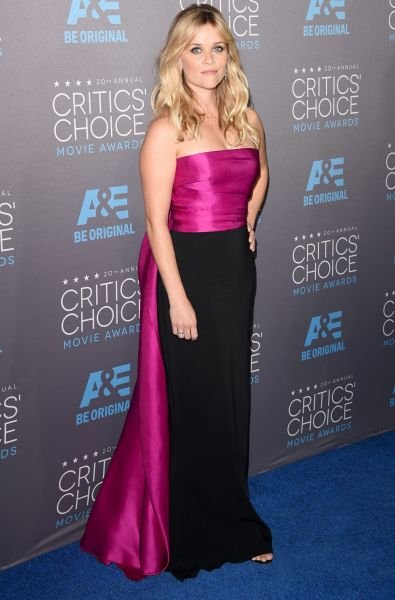 Actress Reese Witherspoon attends the 20th annual Critics' Choice Movie Awards