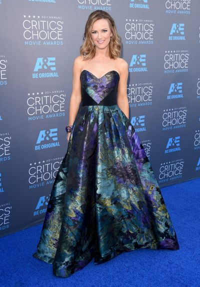 TV personality Brooke Anderson attends the 20th annual Critics' Choice Movie Awards.