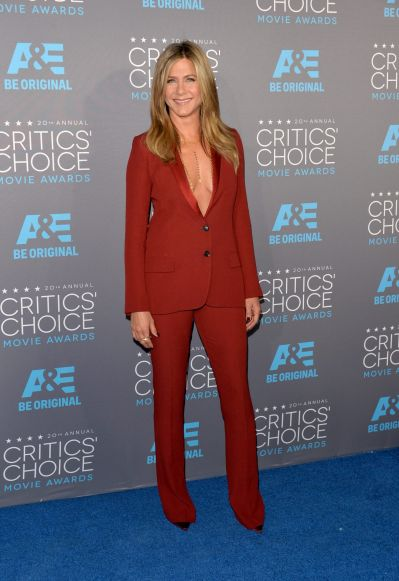 Actress Jennifer Aniston attends the 20th annual Critics' Choice Movie Awards