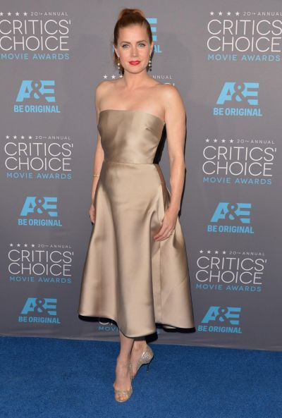 Actress Amy Adams attends the 20th annual Critics' Choice Movie Awards.