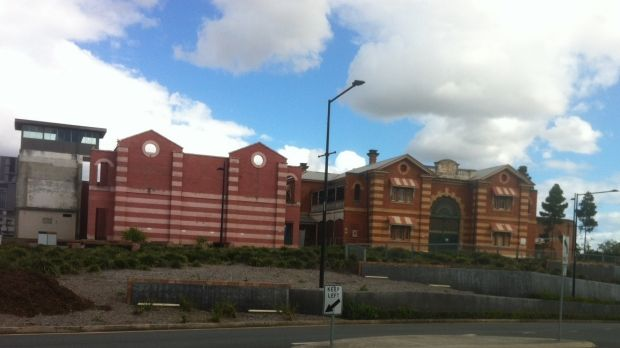 The historic Boggo Road Gaol site at Dutton Park is set for redevelopment, with the building pictured on the left due to ...