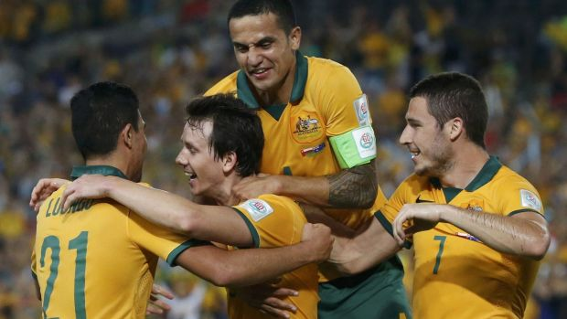 Box seat: Australia need only to avoid defeat against the Koreans to top their group.