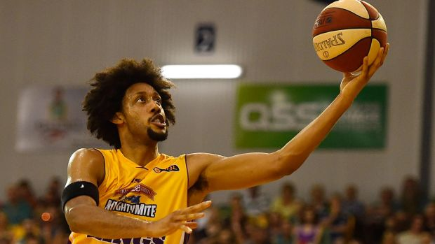 Looking up: Kings import Josh Childress will be back in the NBL next season.