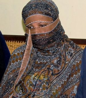 Fate in hand: A decision on Asia Bibi's appeal to the Pakistan Supreme Court is expected to be heard next month.