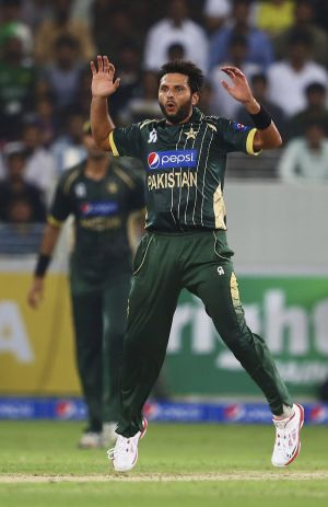 Forever young: Shahid Afridi.